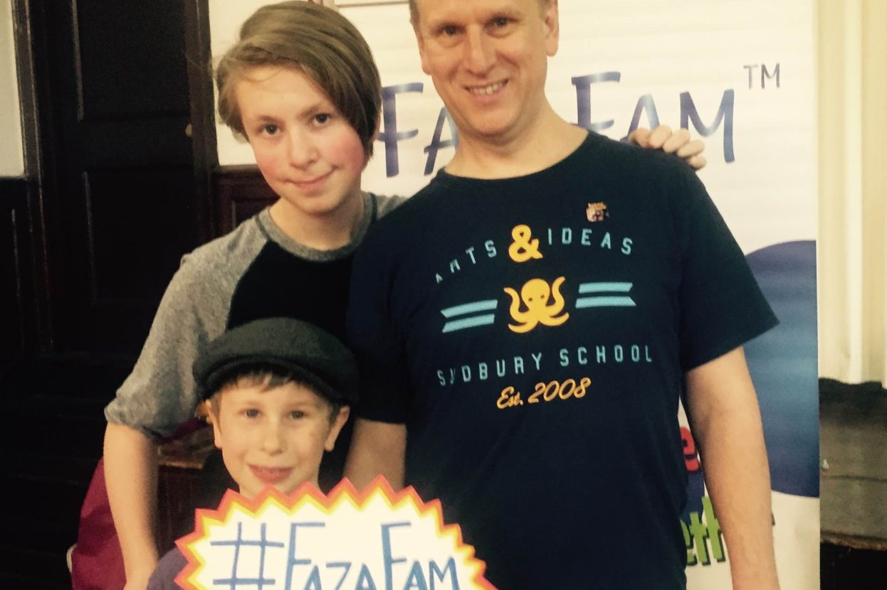 Baltimore Dad's Rock the FazaFam.