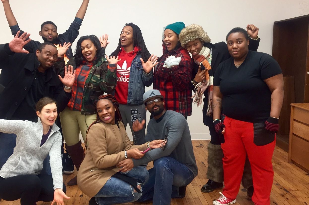 A great collaboration with Center Stage Encounter Alumni, HOPE worldwide Story Tree Gang and Dance & Bmore.